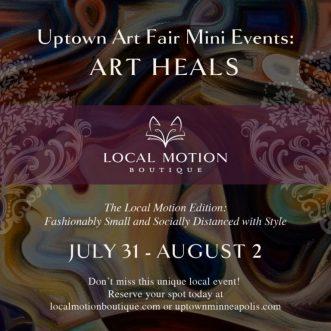 Uptown Art Fair Mini Events: Art Heals – Minneapolis, MN