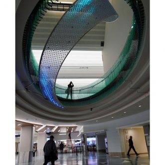 A Sculpture is a New Signature Piece for MSP Airport