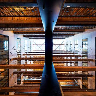 Public Art Installation: Canopy by Hilton Minneapolis Mill District up for a Prestigious CODAaward