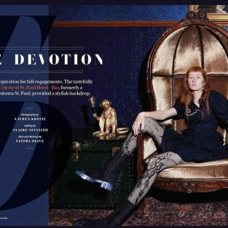 North Photographer: Lauren Krysti – Gothic Inspired Fall Fashion